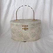 Vintage Wooden Handbag~ Sweet!