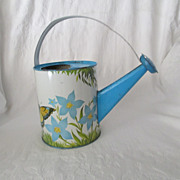 Child's Watering Can Tin Lithograph Decoration! USA.