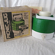 Vintage Thermos Picnic Jug ~ Original Box