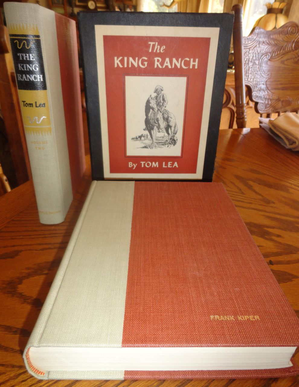 The King Ranch - 2 Volumes 1st Edition in Slip Case - 1957