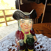 Large Vintage Kelsboro Ware Toby Jug  - Made In England