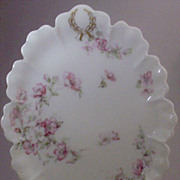 "SALE Haviland Limoges France ""The Miramar"" Pattern Oval Serving Platter"