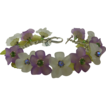 Orchid Flower Bracelet