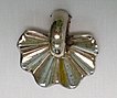 Monet Retro Sterling Fur Clip