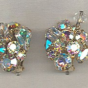 Kramer Aurora and Crystal Dangle Earrings