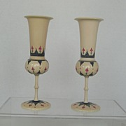 Antique Anglo Indian Ivory Goblets