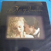 BOOK..First Edition..The Age Of Innocence..From Film..Scorsese & Cocks..1993..New Market Press
