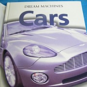 Book..Dream Machine Cars..Jonathan Wood..Excellent Condition!