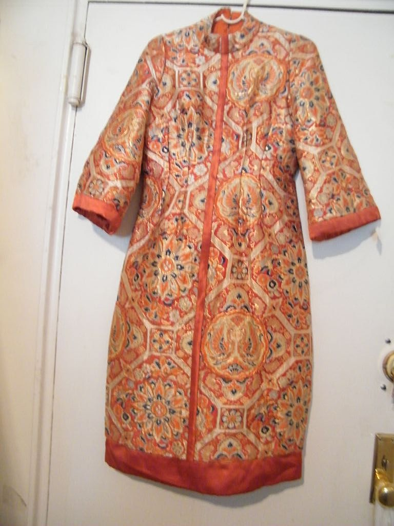 Designer Quality Chinese Brocade Dress...Exceptional!