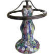 Vintage..Italian Venetian Glass Millefiori Lamp