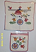 Vintage..PENNA DUTCH..Cotton Pot Holder & Dish Rag Set..NEW/old Stock