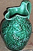 Vintage Wedgewood Of Etruria & Baralston..Green Grape Pitcher Creamer...New Condition