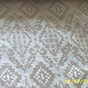 Vintage...Quality Linen Upholstery Fabric..Woven Jacquard..Natural Color