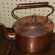 Copper Tea Kettle....Early 19th Century...