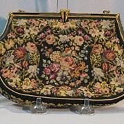 SOLD Vintage Petit Point Purse......