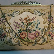 Petit Point Purse By Jolles.....