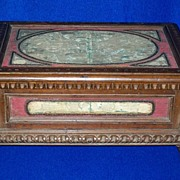 SOLD Early Victorian Document Box......