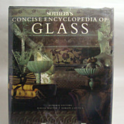 Sotheby�s Concise Encyclopedia of Glass, David Battie and Simon Cottle General Editors, 1991.