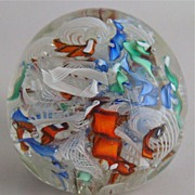 REDUCED Millefiori Paperweight