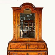 Continental Queen Anne Walnut Secretary - Circa 1720