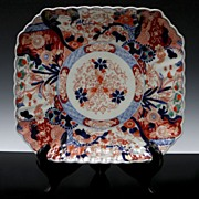 Large Rectangular Scalloped Imari Platter