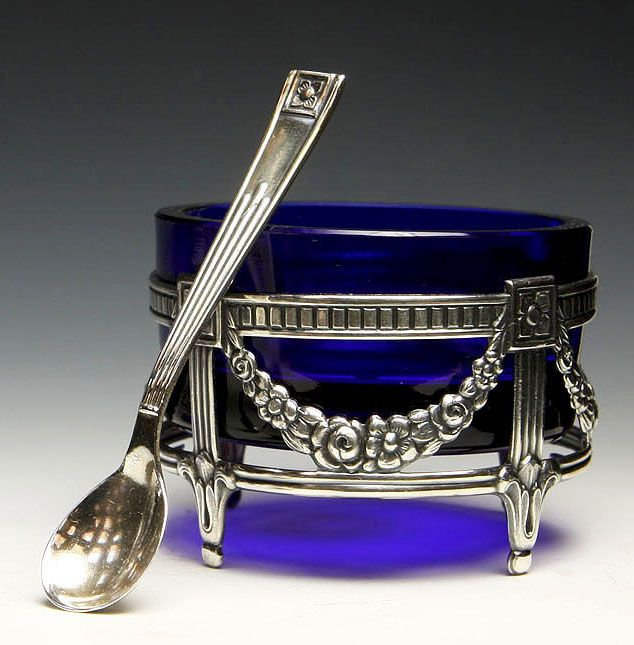 Swedish Neoclassical Salt Cellar