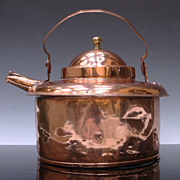 Early Copper Tea Kettle