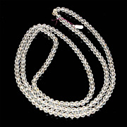 "SALE 51"" Long Strand Cut Crystal Beads - Circa 1920"
