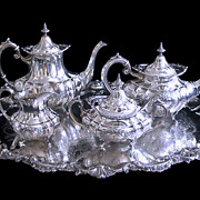Reed & Barton Five Piece Coffee/Tea Service - C. 1947