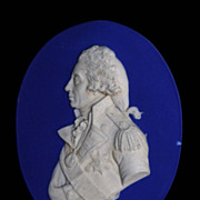 Wedgwood Portrait Medallion Of Lord Nelson