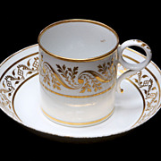 Barr Worcester Cup & Saucer - Circa 1792-1807