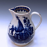 Worcester Porcelain Cream Pitcher - Circa 1770