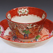 Stevenson Porcelain Cup & Saucer