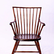 American Duck Bill Windsor Arm Chair