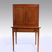 American Maple Hepplewhite Plantation Desk