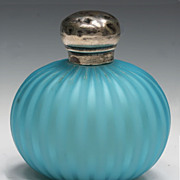 Webb Satin Glass Perfume Bottle
