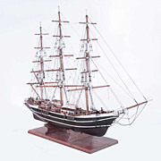 Elaborate & Large Nautical Ship Model