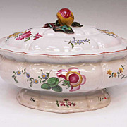 18th Century French Faience Tureen