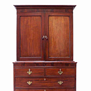 Mahogany Cabinet On Chest