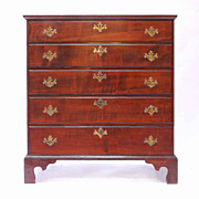 American Chippendale Blanket Chest