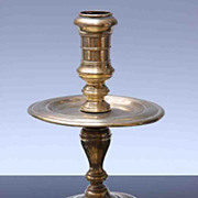Dutch 17th Century Candlestick