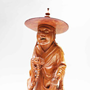 Carved Chinese Mythological Figure
