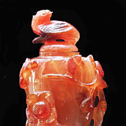 Japanese Agate Snuff Bottle