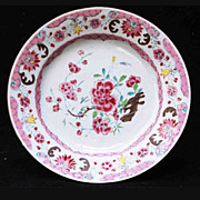 Famille Rose Porcelain Plate