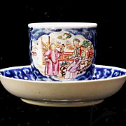 Chinese Porcelain Cup & Saucer