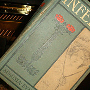 Beautiful  Old 1875 Hardback Book INFELICE Novel by Augusta..Evans..Wilson Illustrated Davis