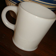 Hazel Atlas Wannabe Mug With Pedestal Rim at Bottom Excellent!