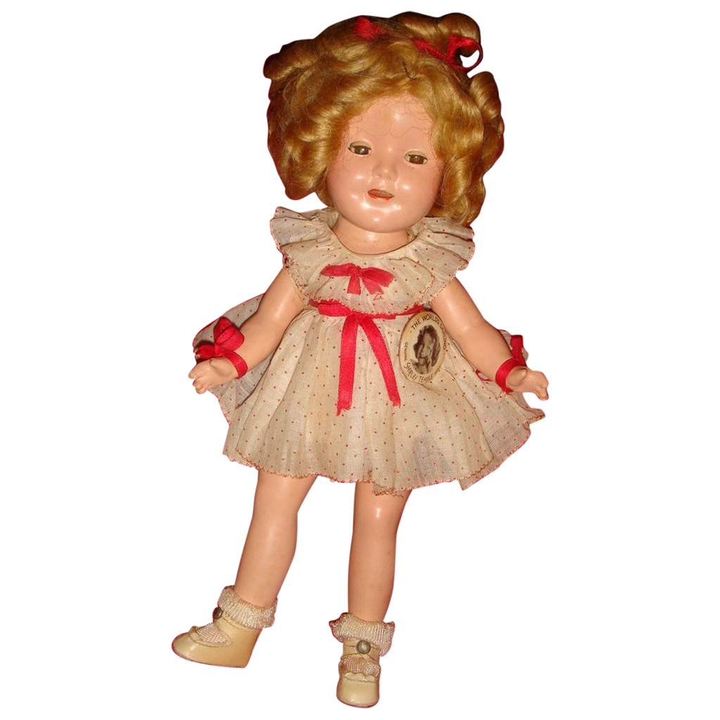 Original Clothes Shirley Temple Rare Size 11 Composition Doll 1930's from loghomeantiques on ...