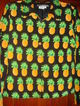Size 8 Petite Maggy L 100% Silk Fully Lined Blouse Pineapples
