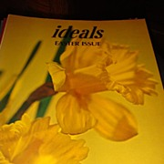 SALE 1975 IDEALS Magazine: Easter Issue Volume 32